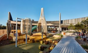 Curved wooden structures