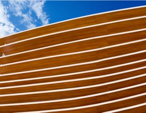 A modern wooden architecture